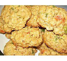 Kiwi Papaya Oatmeal Cookies Photographic Print