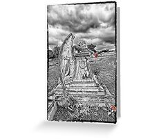 Angel Tears - Selective Color Greeting Card