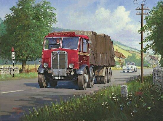 AEC Mammoth Major Mk II by Mike Jeffries