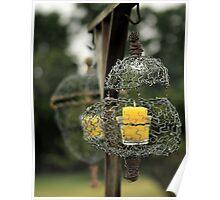 Wire Lanterns Poster