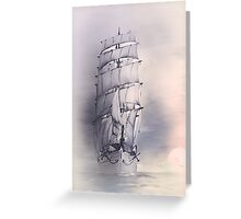 Sea stories 4 ........ Greeting Card