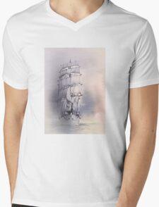 Sea stories 4 ........ Mens V-Neck T-Shirt