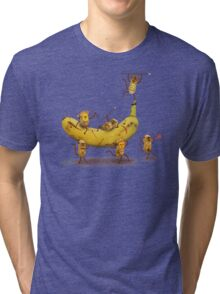 Monkeys are nuts Tri-blend T-Shirt