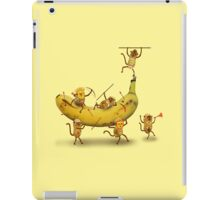 Monkeys are nuts iPad Case/Skin