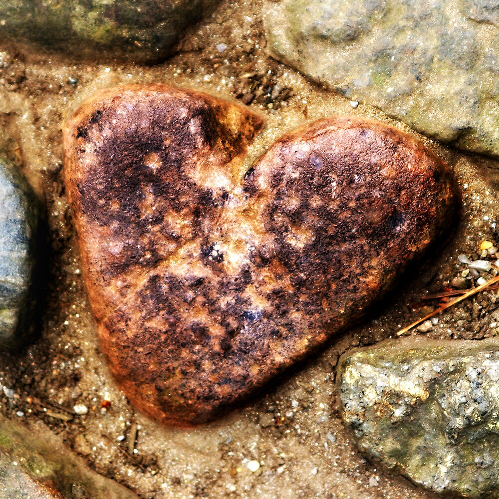 Heart of Stone on the Mount by Tom Card