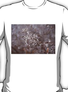 Of Weeds, Seed Pods and Crystals  T-Shirt