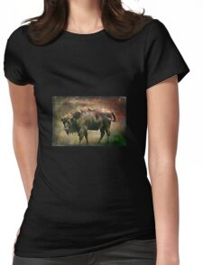 European bison(Poland) Womens Fitted T-Shirt
