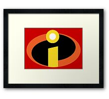The Incredibles Framed Print