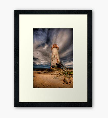 Talacre Lighthouse Framed Print