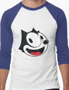 Felix The Cat !! Men's Baseball ¾ T-Shirt