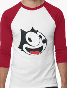 Felix The Cat !! Men's Baseball ¾ T-Shirt
