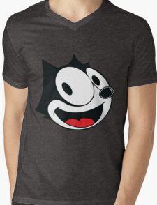 Felix The Cat !! Mens V-Neck T-Shirt