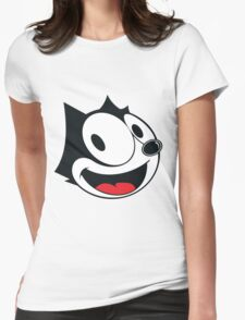 Felix The Cat !! Womens Fitted T-Shirt