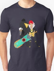 Red and her Transistor T-Shirt