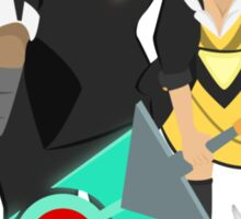 Red and her Transistor Sticker