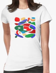 Abstract #11 Womens Fitted T-Shirt