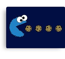 Cookie Monster Canvas Print