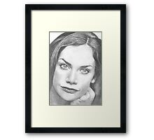 Ruth Wilson Framed Print