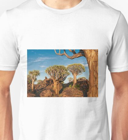 Quiver tree forest, Aloe dichotoma Unisex T-Shirt