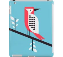 Woodpecker in blue iPad Case/Skin