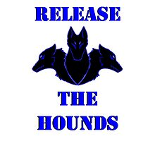 Release the Hounds Photographic Print