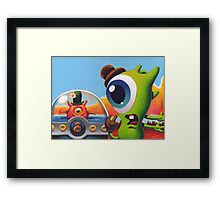 Summer Bubble Framed Print