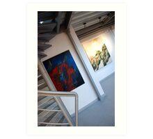 ... images & handrail Art Print