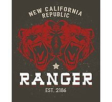 Fallout - New California Republic Ranger Photographic Print