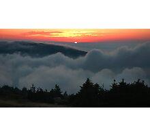 Cadillac Mountain Sunset - Acadia Photographic Print
