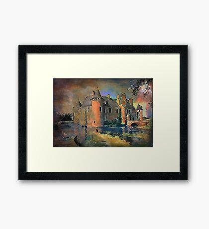 Château de Boucard  Framed Print