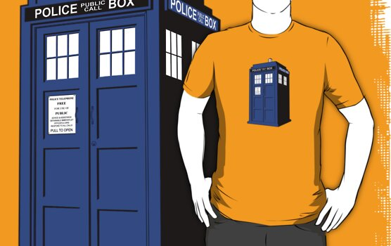 Doctor Who Tardis by superiorgraphix
