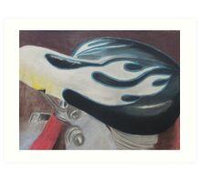 "Hot Seat - Pastel on paper 18"" X 24"" $150 unframed Art Print"