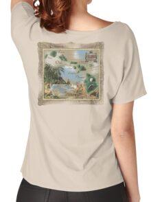 hawaiian islands Women's Relaxed Fit T-Shirt