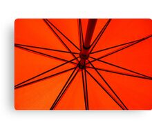 Spokes Canvas Print