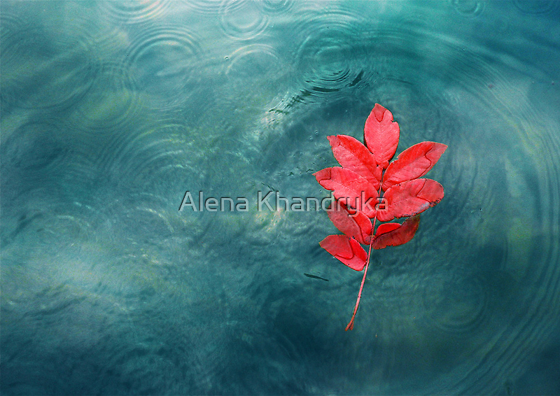 Fire and water by Alena Khandryka