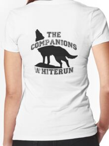 The companions of whiterun - Black Women's Fitted V-Neck T-Shirt