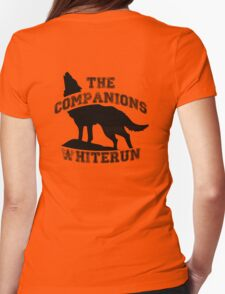 The companions of whiterun - Black Womens Fitted T-Shirt