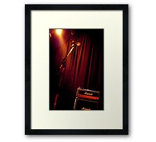 Ready to Rock ! Framed Print