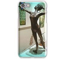 *Elegant Bronze Sculpture -Daylesford Convent Gallery-Vic* iPhone Case/Skin