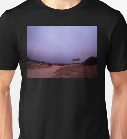 Double Rainbow,Eyre Peninsula,South Australia,2005,No.2 Unisex T-Shirt