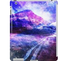 Abstract Mountain Landscape iPad Case/Skin