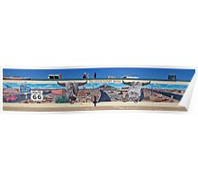 Route 66 Mural Poster