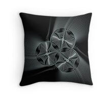 Steelyard Blues Throw Pillow