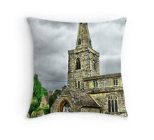 Spire HDR Throw Pillow