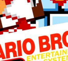 MARIO BROS NES Box cover V 2.0 Sticker