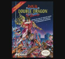 DOUBLE DRAGON NES Box cover V 2.0 by ruter
