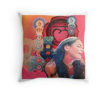 Chakra Root Throw Pillow