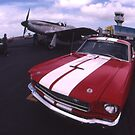 Two Mustangs, Point Cook Airfield, Victoria, Australia by muz2142