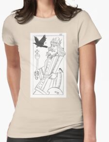 Childermass' Raven King Womens Fitted T-Shirt