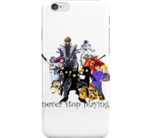 villains iPhone Case/Skin